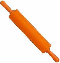 Bunte Backen-Werkzeuge Küchen Bakeware Nudelhölzer, Grosse, Orange