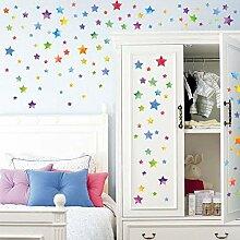 Bunte Kreissterne Kinderzimmer Wohnzimmermöbel
