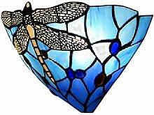 bunte Lampe Wand Glas Kristall Lampe Tiffany-Stil