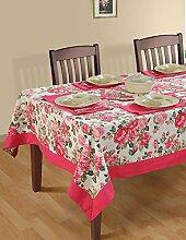 Bunte Multicolor Baumwolle Frühling Blumen Tischdecke Tische 152 X 152 CM, einschließlich Läufer & Servietten