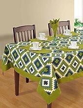 Bunte Multicolor Baumwolle Frühling Blumen Tischdecken Tische 152 X 228 CM, einschließlich Läufer & Servietten
