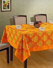 Bunte Multicolor Tischdecken Baumwolle Frühling Blumen Tische 152 X 152 CM, einschließlich Läufer & Servietten