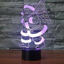 Bunte Nachtlicht, Weihnachtsbeleuchtung, kreative