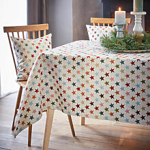 Bunte Sternen-Tischdecke für viele Anlässe