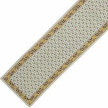 Bunte Tischläufer weiß Floral Cotton handgefertigten indischen 33 X 178 CM