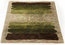 Bunter Vintage Hochflor Rya Teppich von Desso,