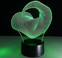 buntes geführtes 3D beleuchtet