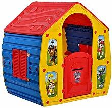 Buntes Kinderspielhaus PAW Patrol Gartenhaus Spielhaus Kinderhaus Kunststoff
