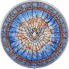Buntglas-Panel - Der Heilige Geist Runde
