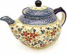 Bunzlauer Teekanne für ca 6 Tassen oder 1,25