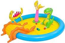BUOODIUY Wasserrutsche für Kinder Hinterhof,