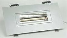 BURDA BHSF20-2, Heizstrahler 2,0 kW weiß low glare