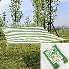 bureze 200x 200cm grün weiß Garten Torrontes Sonnenschutz Net Balkon Yard Terrasse Isolierung Shading Netz