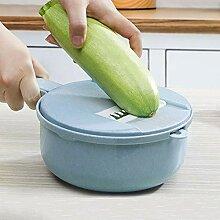 Bureze 8-teiliges Set Gemüse-/Obstschneider