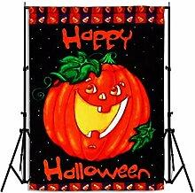 bureze Happy Halloween Halloween-Kürbislaterne House Flagge