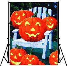 bureze Viel Halloween House Flagge Kürbis Fall Dekorative Banner