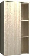 Burgbad Orell Highboard / Halbhoher Schrank - 50 cm, mit Tür und Regal - MELAMIN, THERMOFORM oder ACRYL- B: 500 H: 980 T: 320