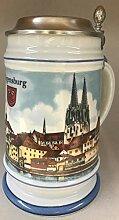 Burgherren-seidel Bier-Krug Bierseidel Regensburg