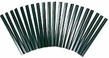 Buri 100 PVC grün Klemmleisten Sichtschutz