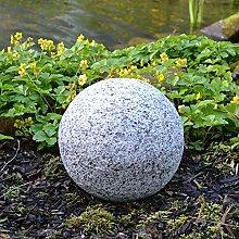 BURI Dekokugel in Granitoptik 25cm Gartenkugel