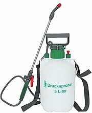 Buri Drucksprüher 5 Liter Gartenspritze