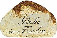 BURI Grab-Spruchstein mit Rankenverzierung