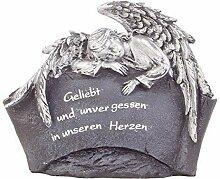 BURI Grab-Spruchstein mit schlafendem Engel
