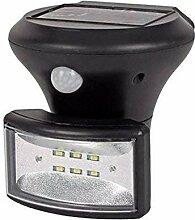 Buri LED Solar-Wandlampe mit Bewegungsmelder