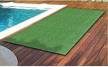 BURI Rasenteppich 100x200cm mit Noppen Grün