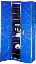 Buri Schuh-Stoffschrank für 30 Paar Schuhe