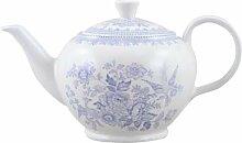 Burleigh Blau asiatische Fasan Teekanne 0.80L