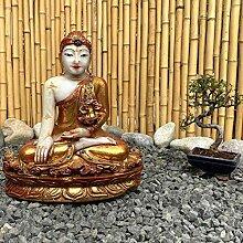 Burma Siddharta Buddha Figur (38cm) Shakyamuni