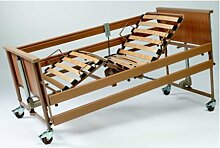 Burmeier-Bett ECONOMIC II 4-get.,90x200cm,Holz,
