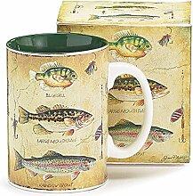 Burton & Burton Arten von Fisch Fischer Porzellan