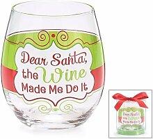 Burton & Burton Weihnachten Urlaub ohne Stiel Wein