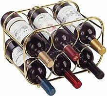 Buruis Weinregal für 6 Flaschen – Weinhalter