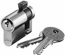 Busch-Jaeger Din-Profilhalbzylinder, Gleichschließend, 0521PZ-GS