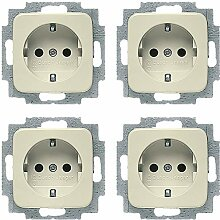 Busch-Jaeger Elektroinstallation (4 Stück,