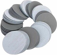 Busirsiz Abrasives 100pcs 3 Zoll 3000 Adhesive