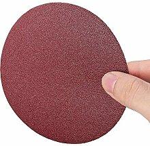 Busirsiz Abrasives 100pcs 5 Zoll Polier