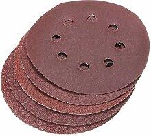 Busirsiz Abrasives 50Pcs 8 Löcher Abrasivsand
