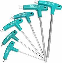 Busirsiz Handwerkzeuge 6Pcs Hexwrench