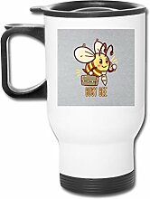 Busy Bee Niedlicher 473 ml Edelstahl-Becher,