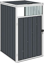 Butifooy Mülltonnenbox Anthrazit 72×81×121 cm