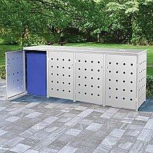 Butifooy Mülltonnenbox für 4 Tonnen 240 L
