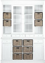 BUTLERS CAMPAGNE Buffetschrank 2-teilig 159x215 cm