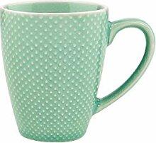 BUTLERS Hanami Kaffeetasse in Minze mit Punkten