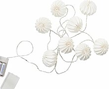 Butlers Hanami Lichterkette Weiß 260cm -