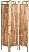 BUTLERS Safari Paravent Bambus 120x4x180 cm -