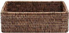 BUTLERS Salon Colonial Korb aus Rattan, 26 x 20 x